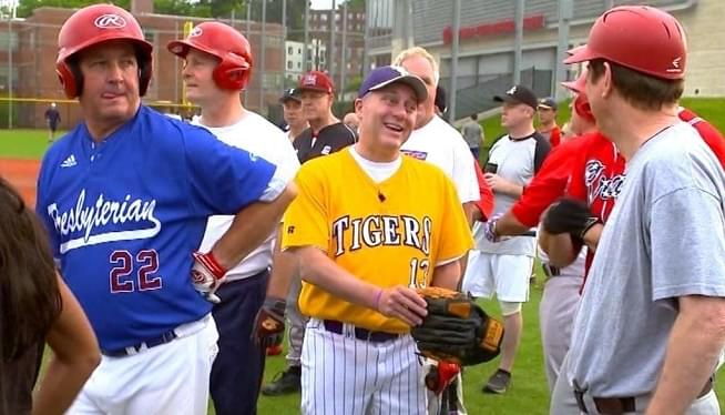Scalise Fields The First Out At Congressional Baseball Game
