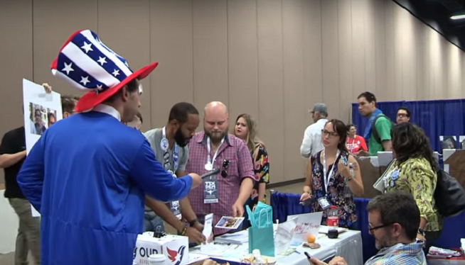 WATCH: Crowder Confronts Crazy Lib Who Threatened to Fire Bomb His Van