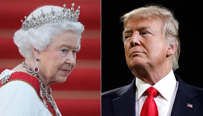 President Trump Says The Queen 'Is A Tremendous Woman'