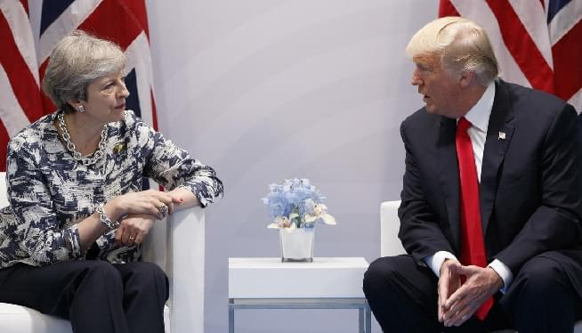 President Trump and British P.M May Hold Joint News Conference