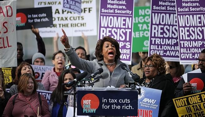 """Package Addressed to """"Anne Thrax"""" Sent to Maxine Waters' Office"""