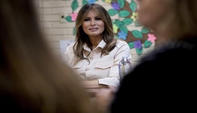 Melania Trump to Address Cyberbullying Summit in Maryland