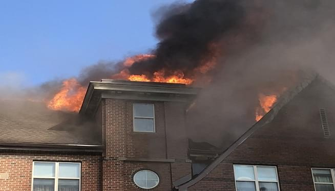 BREAKING – 2 Alarm Fire in SE DC