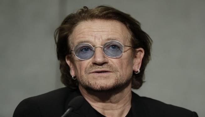 "U2′s Bono Says Pope's ""Aghast"" About Church Sex Abuse"