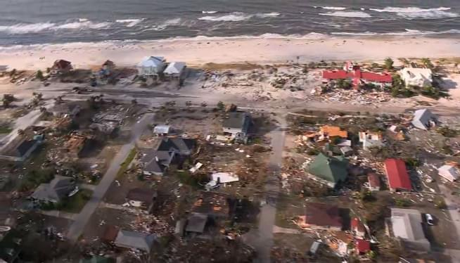 A Week After Hurricane Michael, More Misery, Rising Death Toll