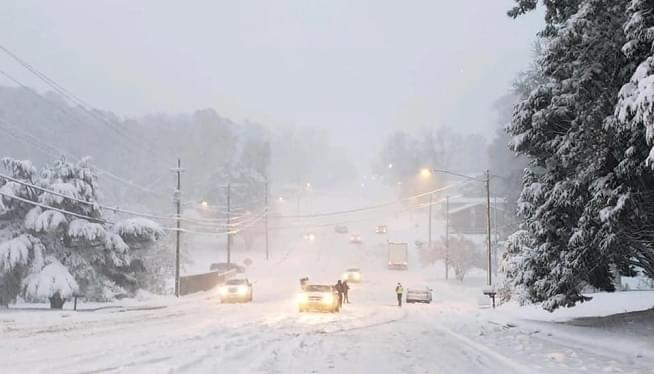 Early Winter Storm Socks The South