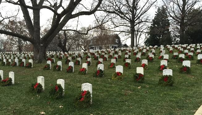Help Needed To Pay For Enough Wreaths To Blanket Arlington Cemetery