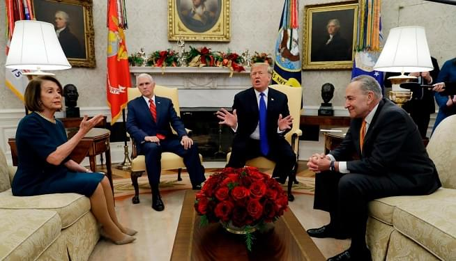 Trump privately brags to Dems that Mexico will still pay for border wall