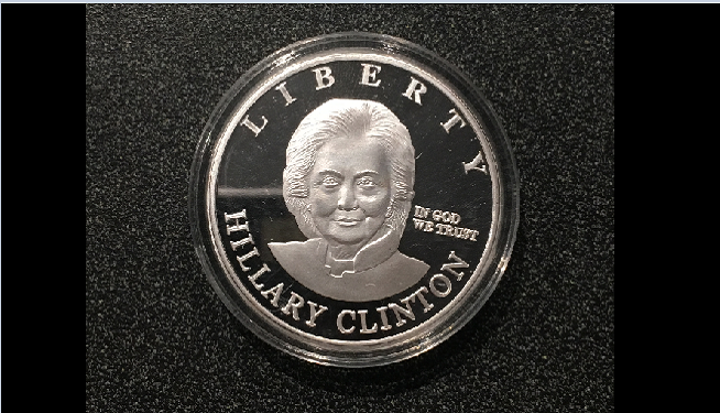 clinton coin