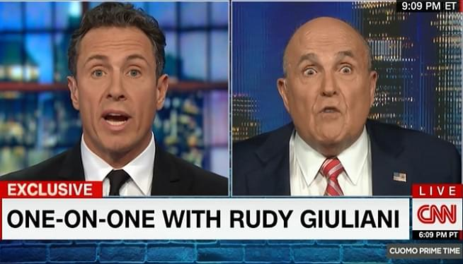 Giuliani: Trump Didn't Collude With Russia; Can't Say Whether His Aides Did
