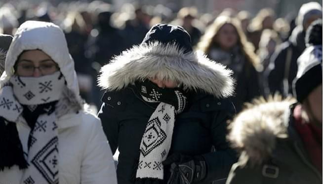 Ridiculously Cold Air Sets Records Across The Northeast