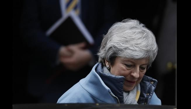 UK Speaker Stymies PM May's Bid For 3rd Vote On Brexit Deal