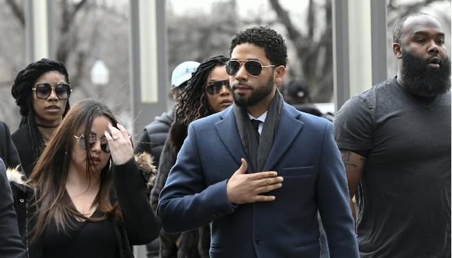 Jussie Smollett Pleads Not Guilty To Lying About Racial Attack
