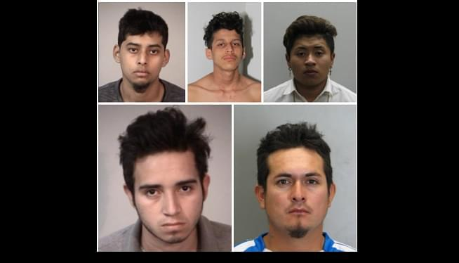 Five MS-13 Members Charged With Murder For Allegedly Stabbing Fellow Gang Member Up To 100 Times And Setting Body On Fire