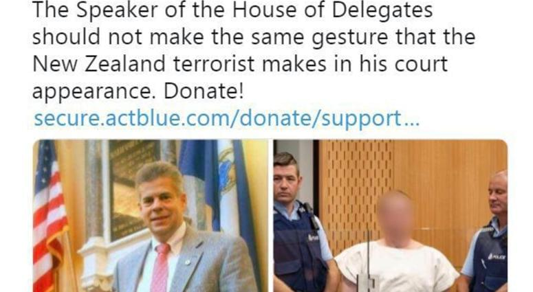 LISTEN: DJ JORDAN and VA GOP's JACK WILSON React To Henrico Dems Attempting To Link GOP House Speaker With The New Zealand Attacker