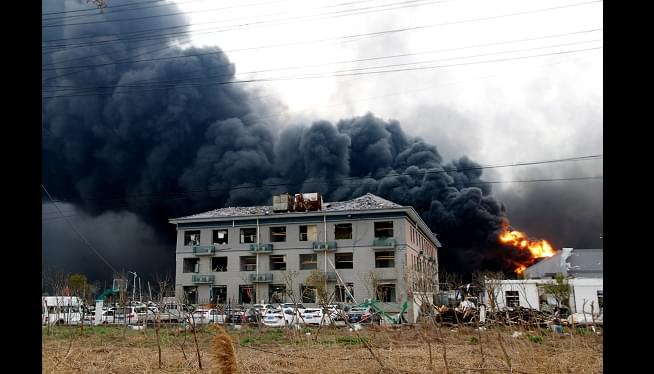 China Chemical Plant Blast Kills 47, Injures Hundreds More