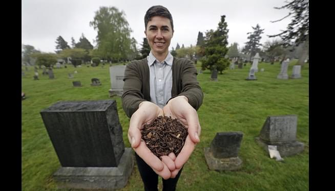 Back To Earth: Washington Set To Allow 'Human Composting'