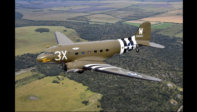 WWII planes involved in D-Day to fly over D.C. metro area Friday and Saturday