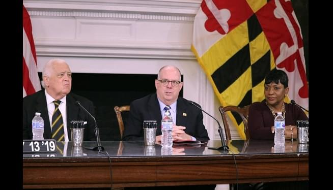Maryland Gov. Larry Hogan Signs 1st-In-Nation Measure To Help Uninsured