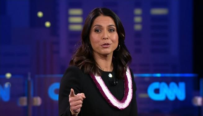 Tulsi Gabbard Invokes Trump's 'Fake News' Rhetoric to Push Back on Report of Russia-Linked Support