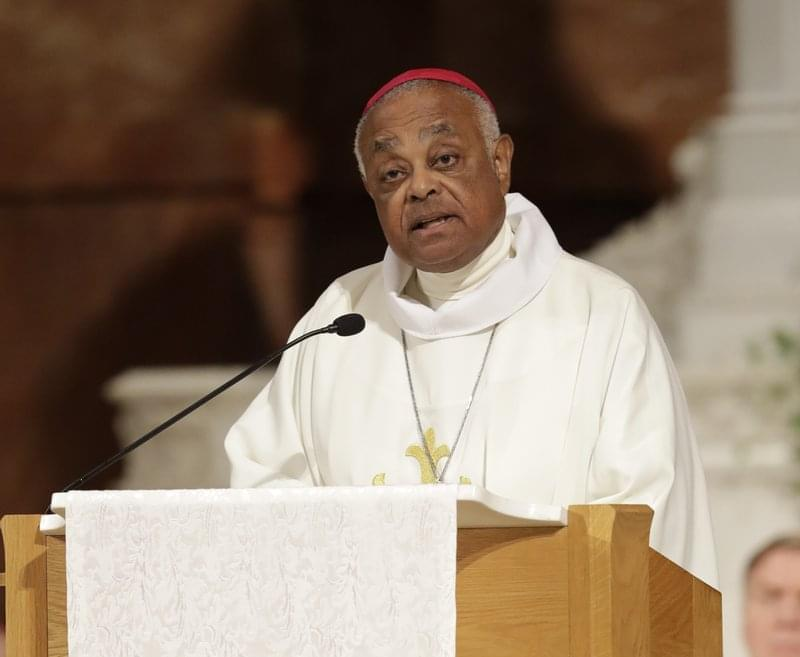 New archbishop installed at the Archdiocese of Washington Tuesday