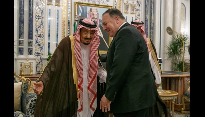 Pompeo In Saudi Arabia, Iran Threatens More US Drone Attacks