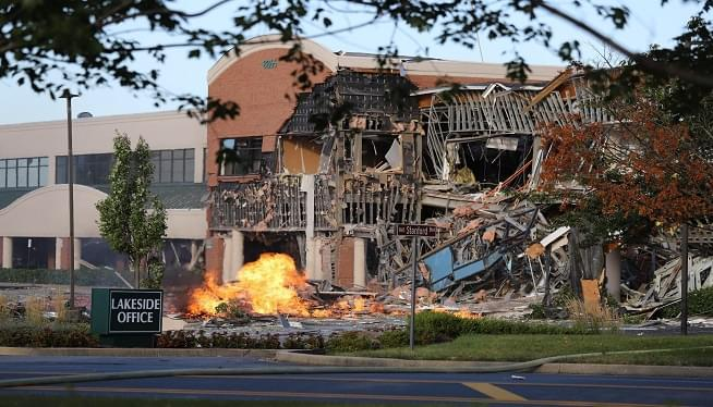 No Injuries in Office Building Explosion in Howard County