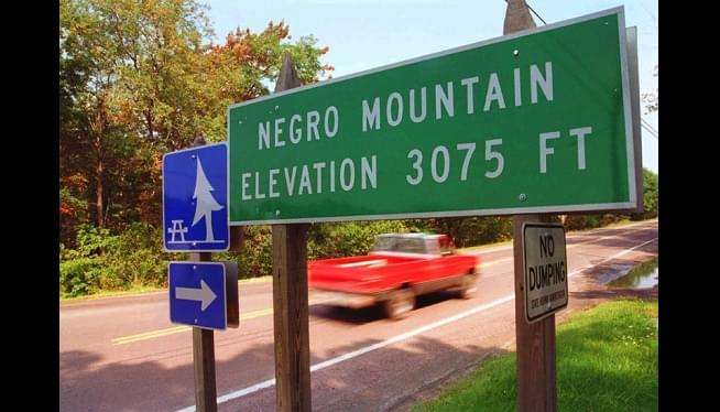 Maryland Highway Agency Removes 'Negro Mountain' Road Signs