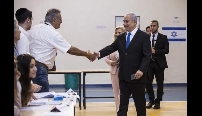 Exit Polls Signal Setback For Israel's Netanyahu In Election