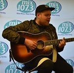 Tom Walker in the mix107.3 Lounge!