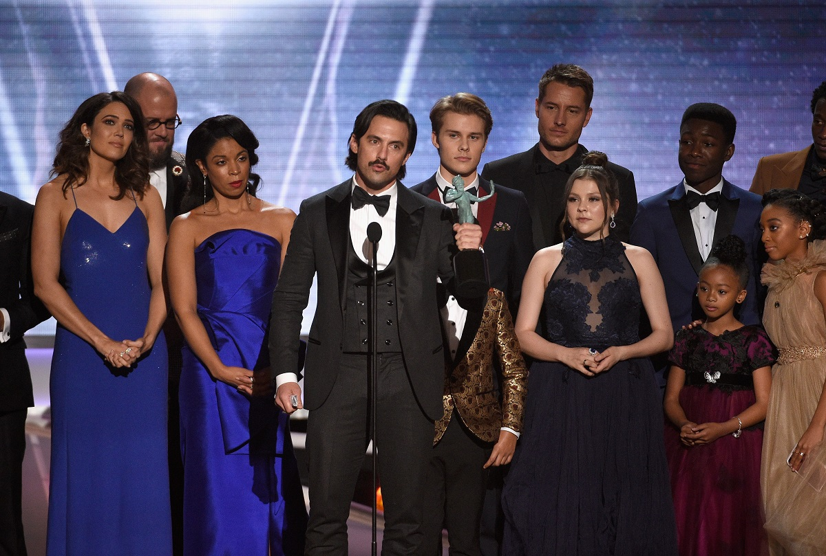 Who were the big winners at the SAG Awards?