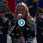 Kelly Clarkson sings the National Anthem at Indy 500