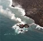 Lava From The Hawaii Volcano Has Created A Tiny New Island Off Its Coast