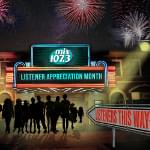 mix107.3 Listener Appreciation Month!