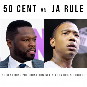 50 Cent and Ja Rule escalate beef