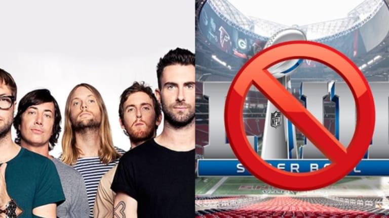 Petition Asks Maroon 5 to Reject Half Time Show