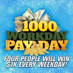 Listen to win with the $1000 Workday Payday!
