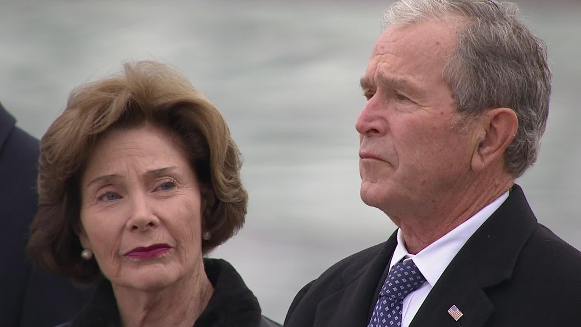 Nation says goodbye to Bush: 'To us, he was close to perfect'