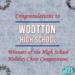 The 2018 Winner of the High School Division of the Holiday Choir Competition!