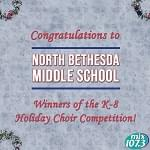 2018 Winner of the K-8 Division of the Holiday Choir Competition