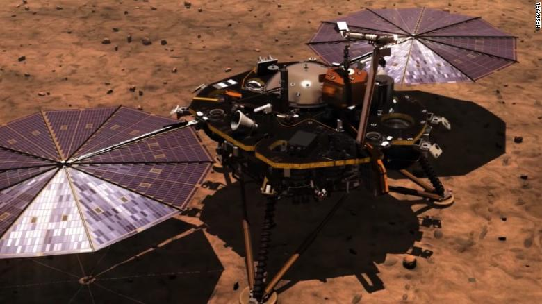 All eyes on Mars as NASA lander touched down