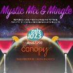 mix107.3 Mystic mix&mingle group reading with The Psy-Twins!