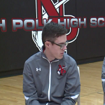 Blind High School Basketball Player Got One Shot All Year and Drained It!