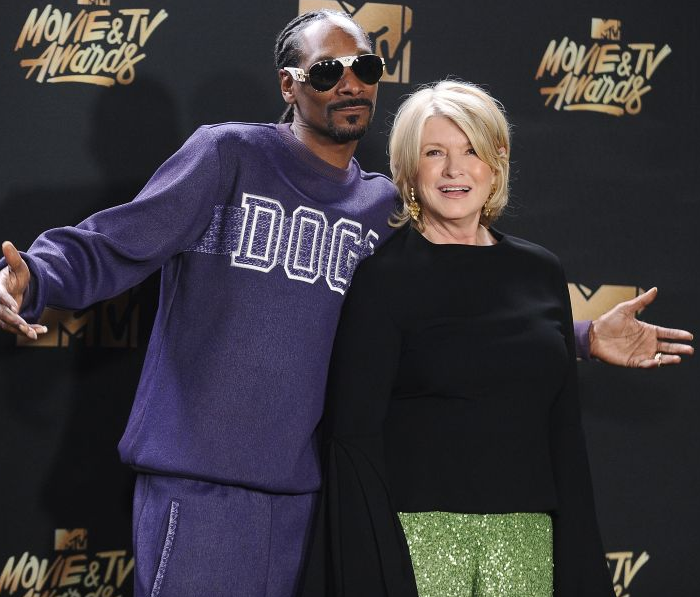 MARTHA STEWART IS JUMPING INTO THE WEED BUSINESS