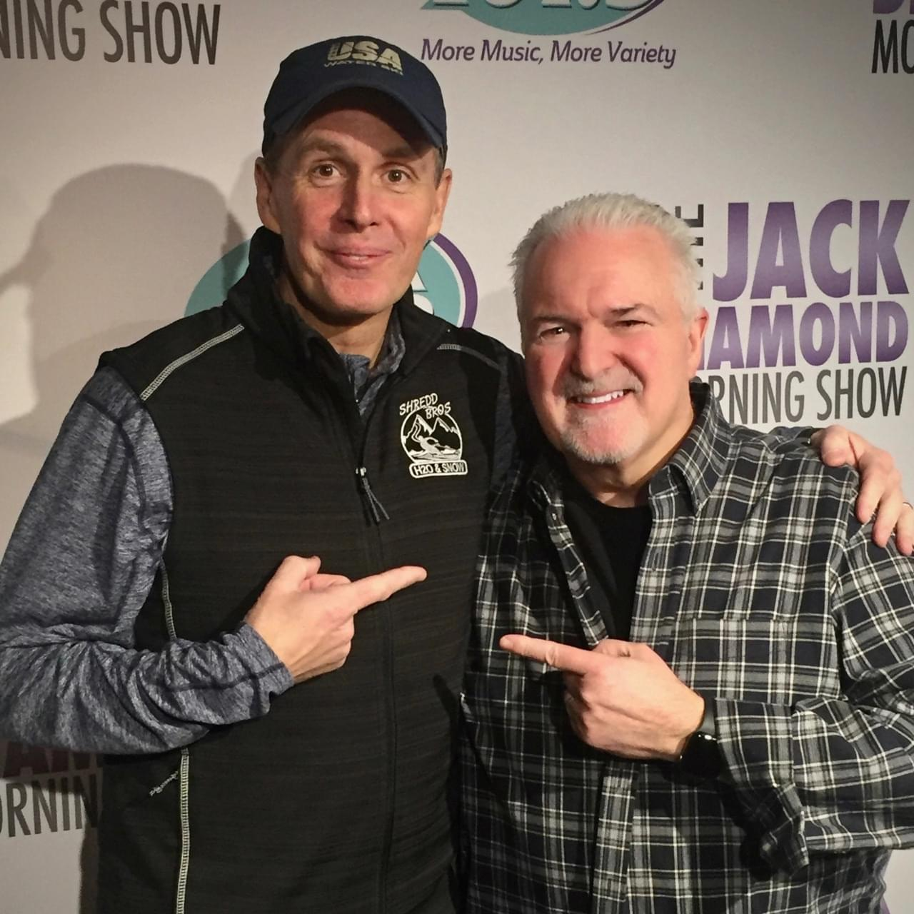The Jack Diamond Morning Show Welcomes Comedian Bob Marley!