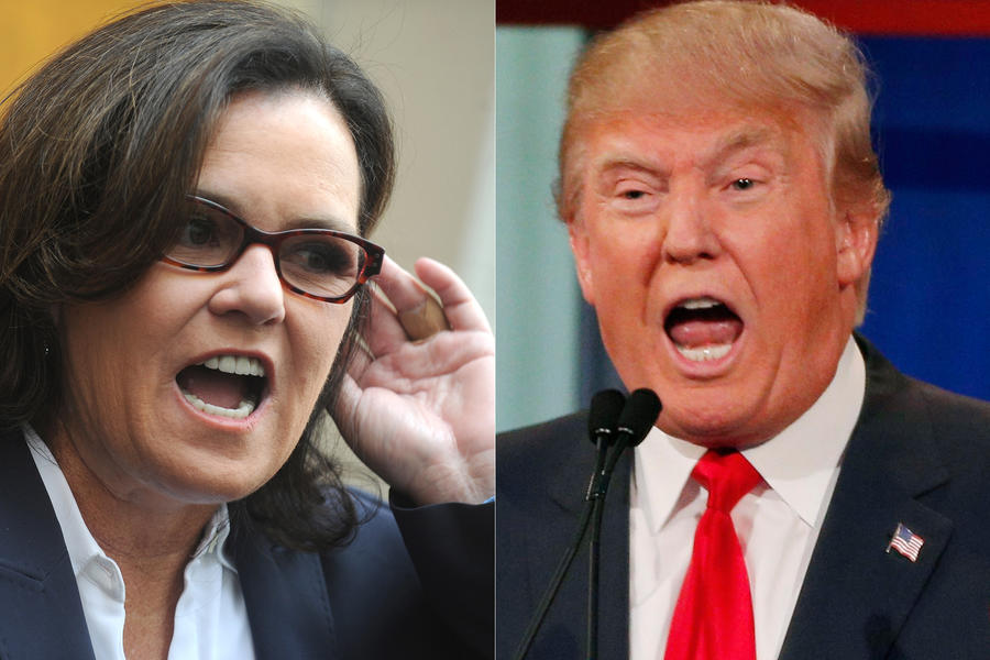 Renewed Feud:  Rosie O'Donnell Rips Donald Trump (Again)