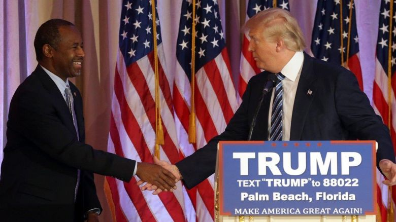 """Carson:  We're Not Seeing 'The Real' Trump, Advises Him To """"Read The Bible"""""""