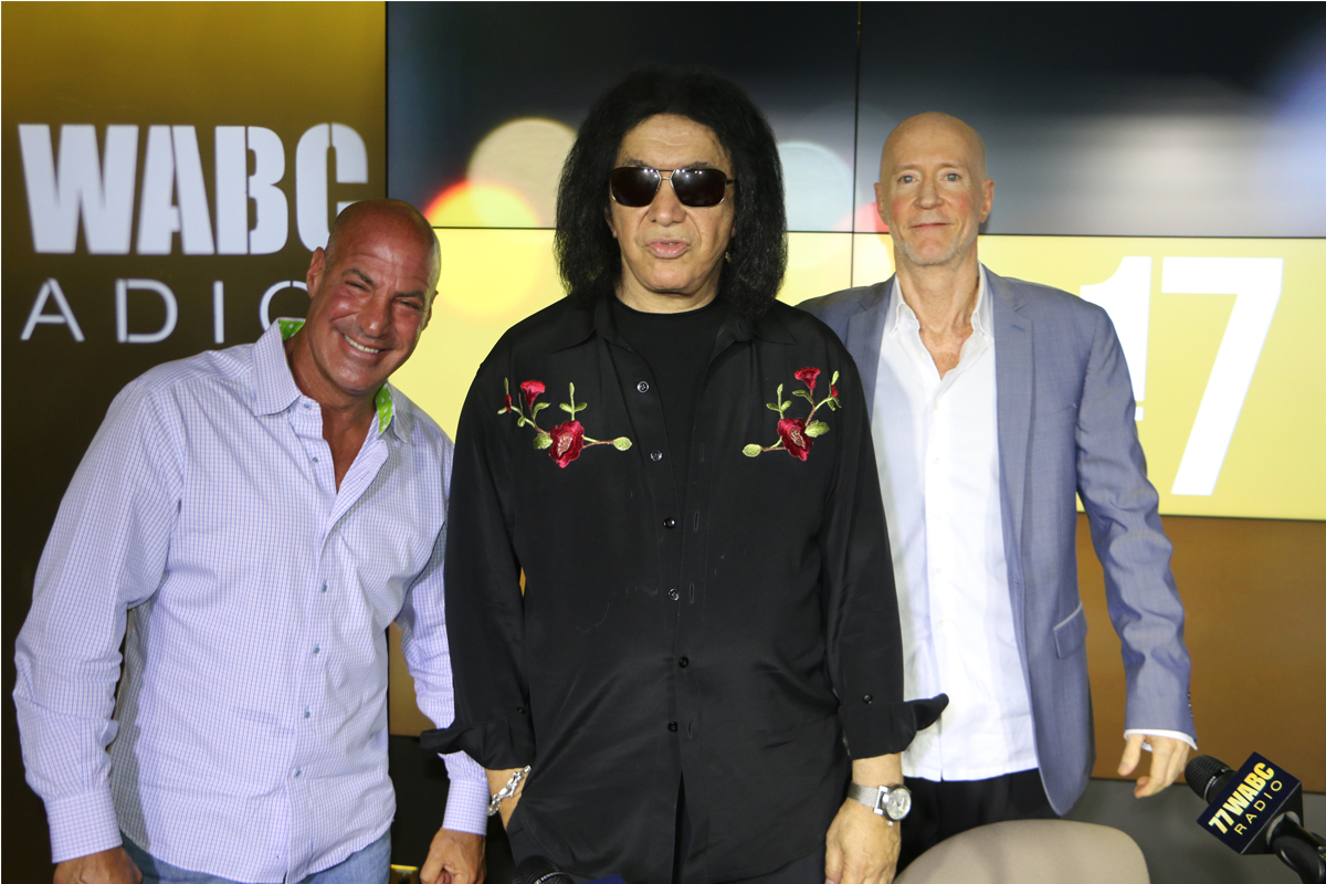 Gene Simmons on 77 WABC! [Exclusive Video]
