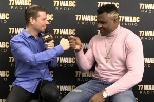 Gunz talks with Francis Ngannou before UFC 220! [Exclusive Video]