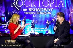 The Yola Nash Show with Broadway Superstar Rob Evan! [Exclusive Video]